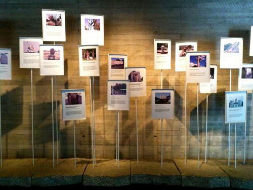 No Museu da Memória, é possível conhecer os mais de 200 memoriais que estão espalhados pelo Chile